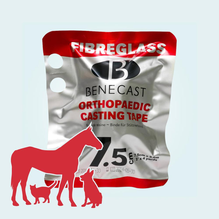 BeneCast Fibreglass Casting Tape (For Pets, Vets & Horses) (Single Roll)