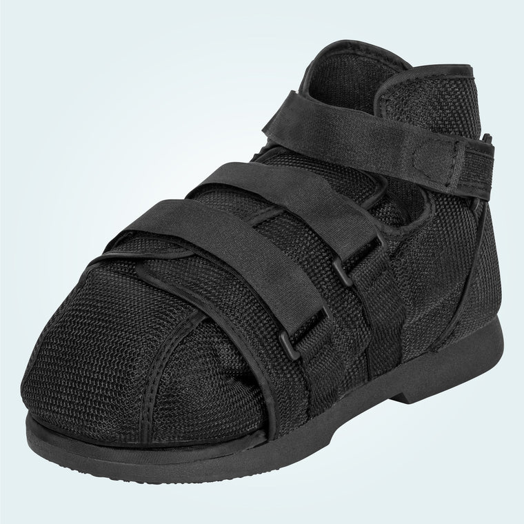 High-Top Shoe w/ Toe Cover