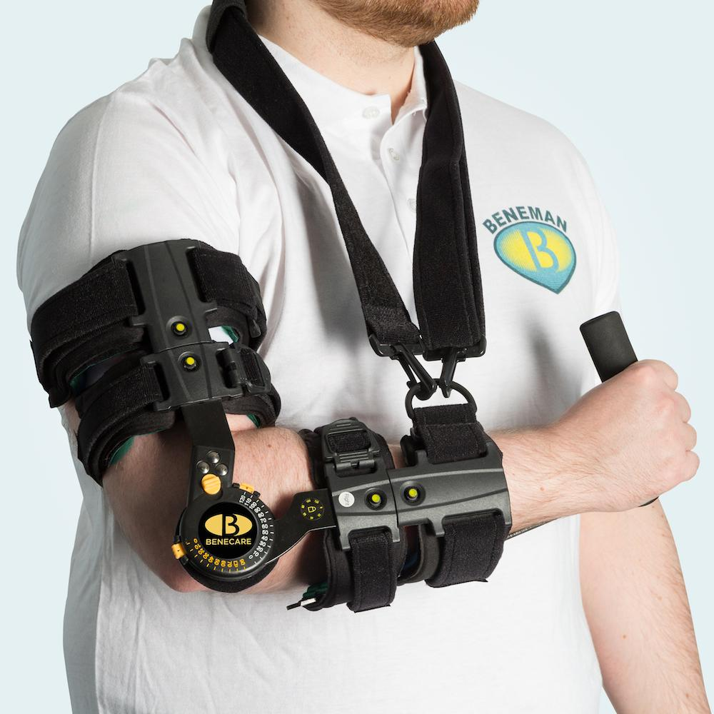 B Mobile Extender Arm Brace Deluxe (With Grip)