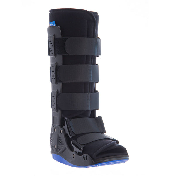 Blue Trim Fixed Walker Boot