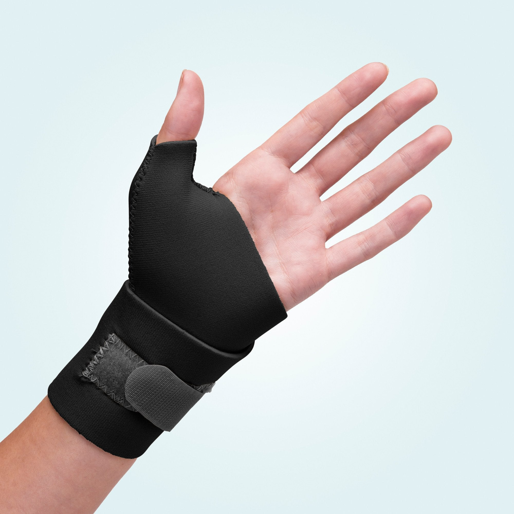 Black Neoprene Wrist Thumb Wrap