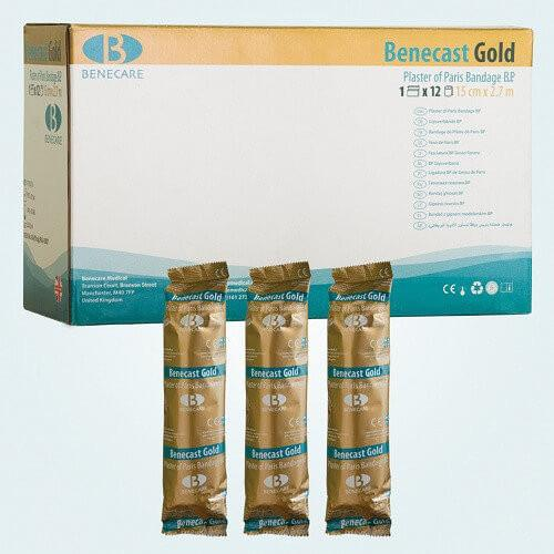 Benecast Gold Plaster of Paris packaging