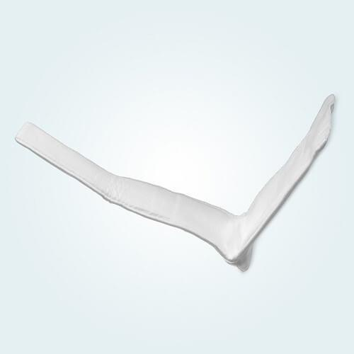A long arm Benecast Pre-Cut Moulded Splint.