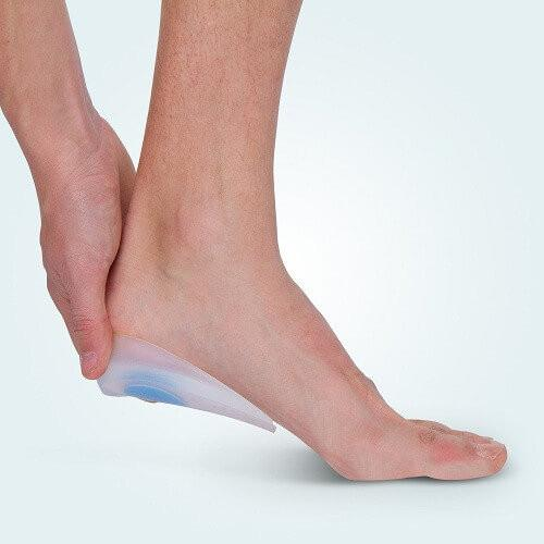 The Benecare Silicone Heel Cups helps relieve pain from Plantar Fasciitis, Heel Spurs, Bursitis, Achilles Tendonitis, and Pressure Ulcers.