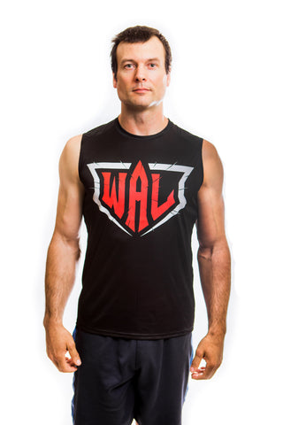 Men's WAL Black Sleeveless