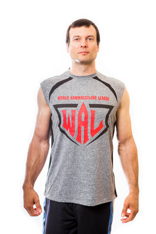 Men's WAL Grey Sleeveless