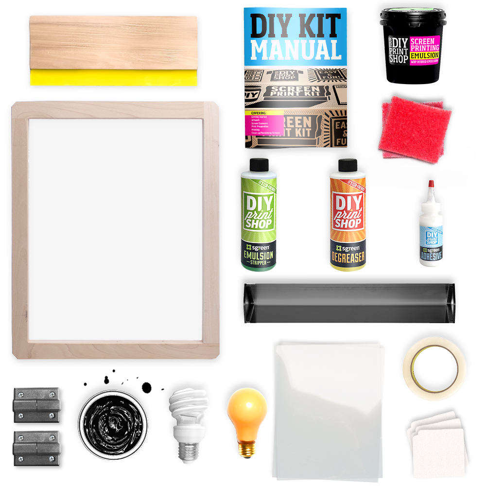TableTop Screen Printing Kit