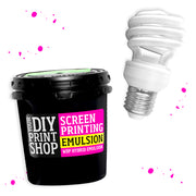 Refill: Emulsion & UV Exposure Bulb