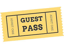 Weekend Guest Pass