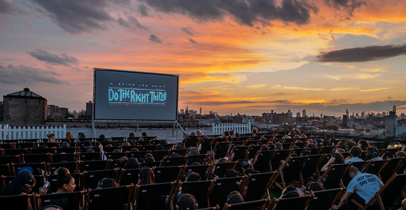 Rooftop Cinema- Weekend Plans