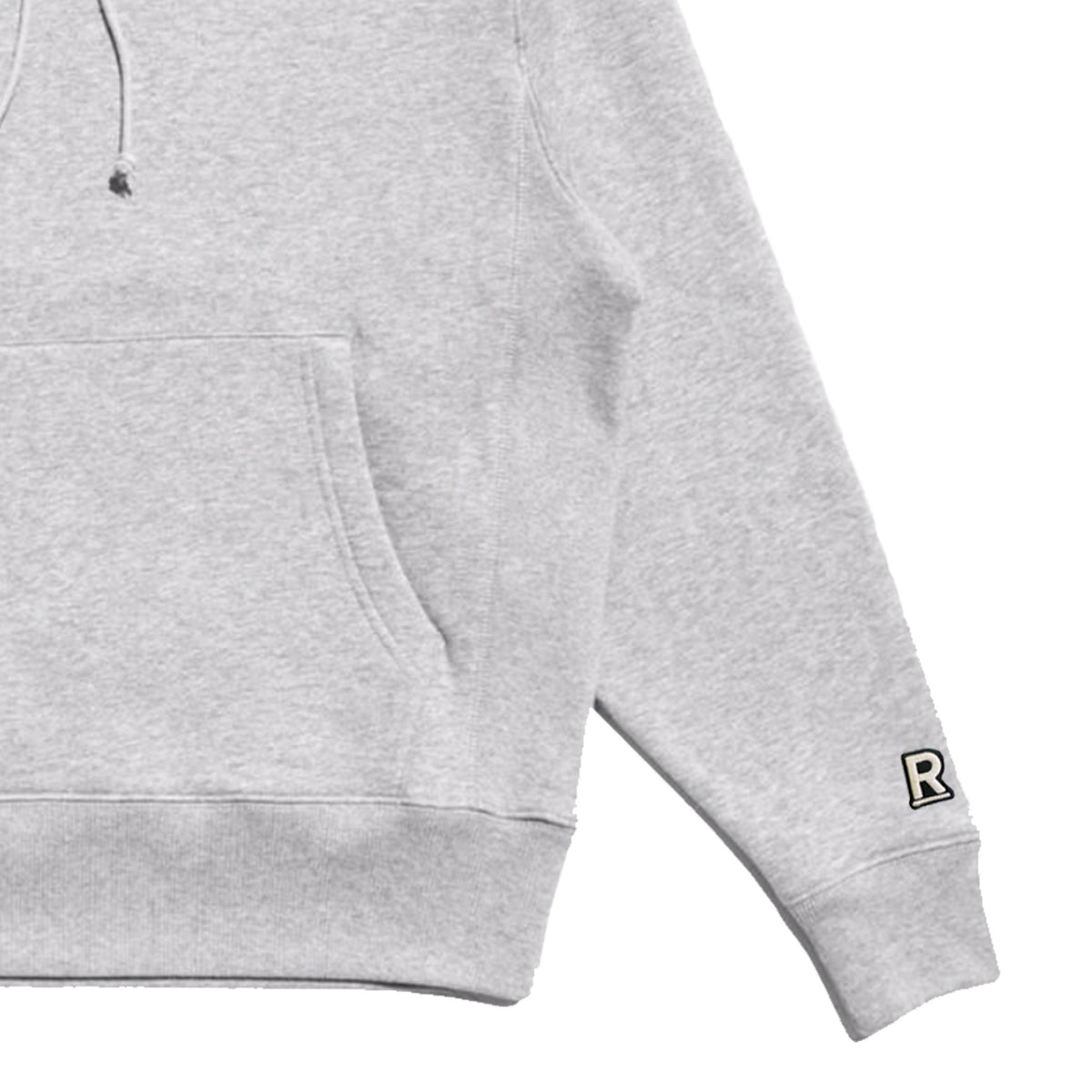 Respectfully basic varsity hoodie