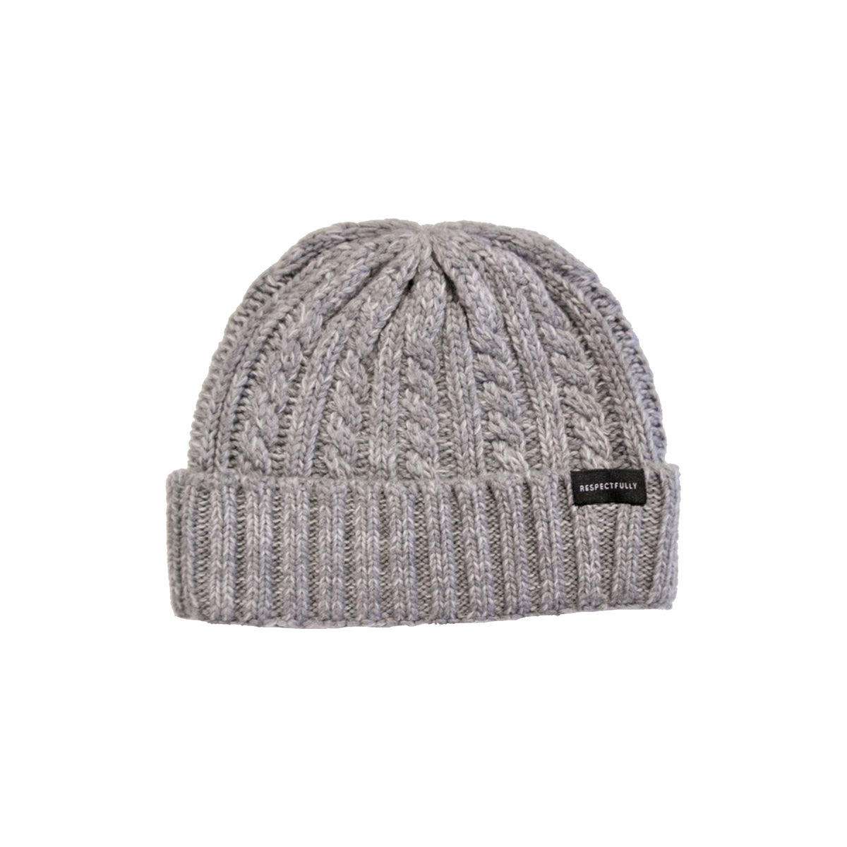 Knitted Respectfully Beanie
