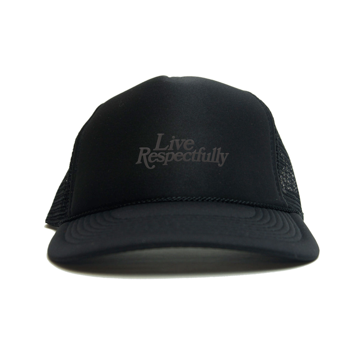 Live Respectfully trucker hat