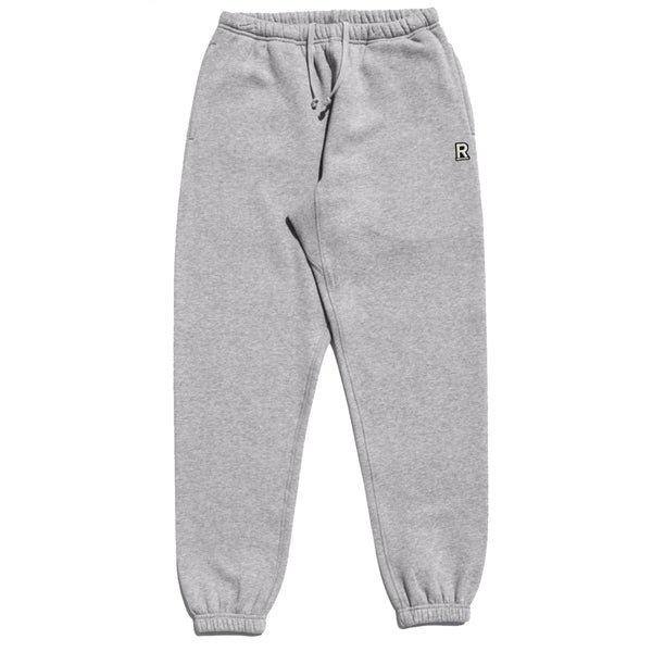 Respectfully basic varsity sweatpants