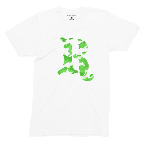 White and green camo r