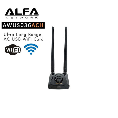 Cyber Security - Alfa Dual-Band AC1200 Wireless USB 3.0 Wi-Fi Adapter