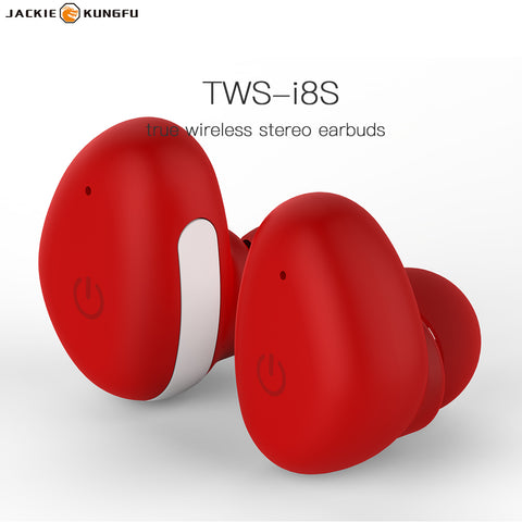i8S bluetooth headphone sport earbuds