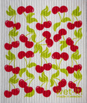 Swedish Treasures Wet-it! Dishcloth & Cleaning Cloth - Cherry