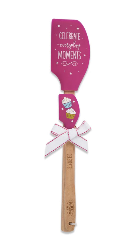 Brownlow Gifts Kitchen Buddies 2-Piece Silicone Spatula Set - Celebrate Everyday Moments