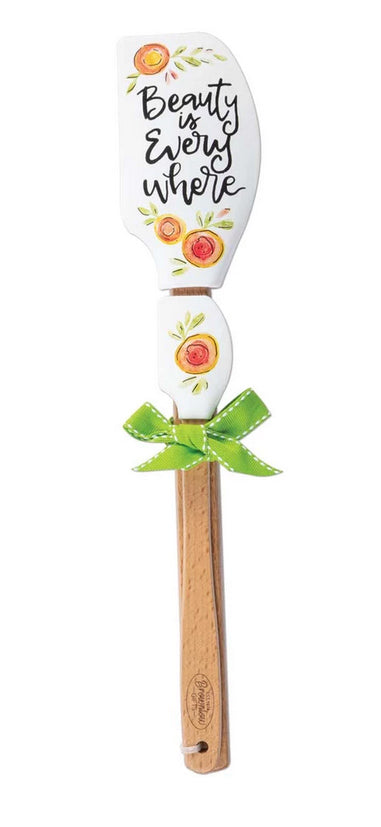 Brownlow Gifts Kitchen Buddies 2-Piece Silicone Spatula Set - Beauty is Everywhere