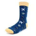 Urban-Peacock Men's Novelty Crew Socks - Airline Pilot