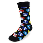 Men's Novelty Crew Socks - Billards / Pool