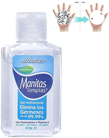 2 oz. Bottle Hand Sanitizer
