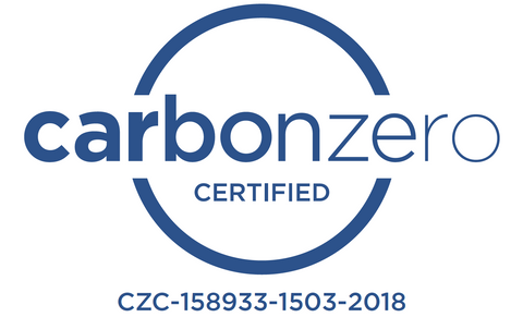 Carbonzero Certified Logo with Serial Number
