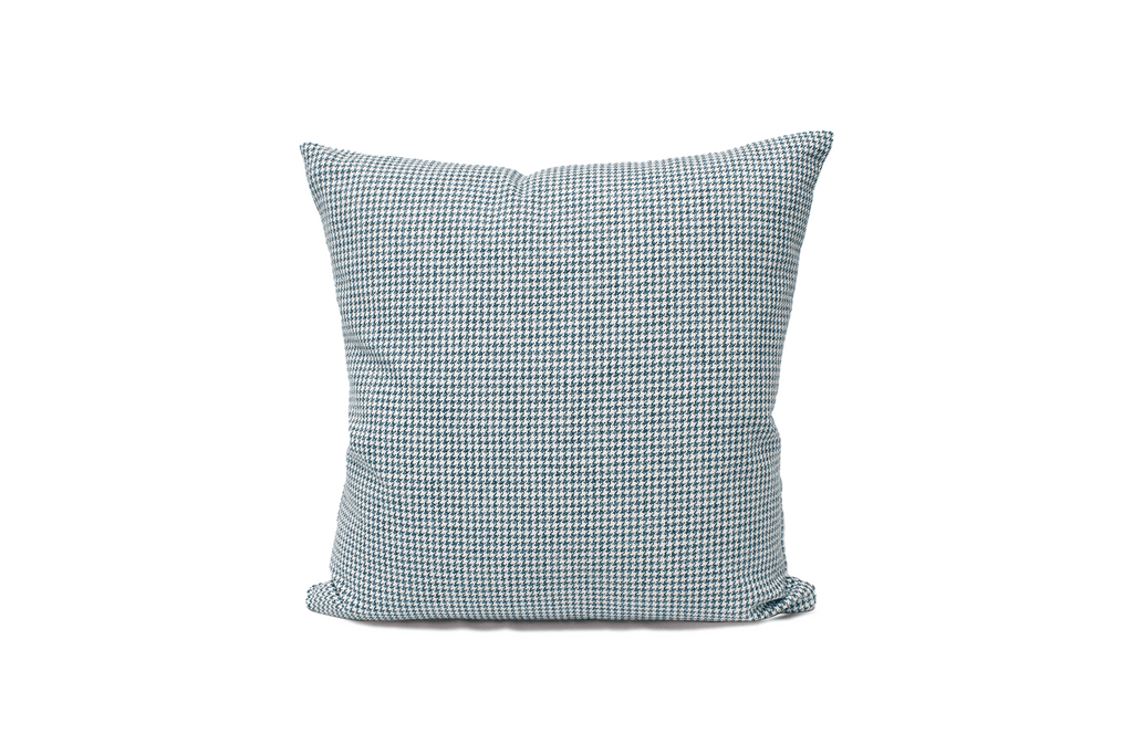 Lake Houndstooth Cushion Cover