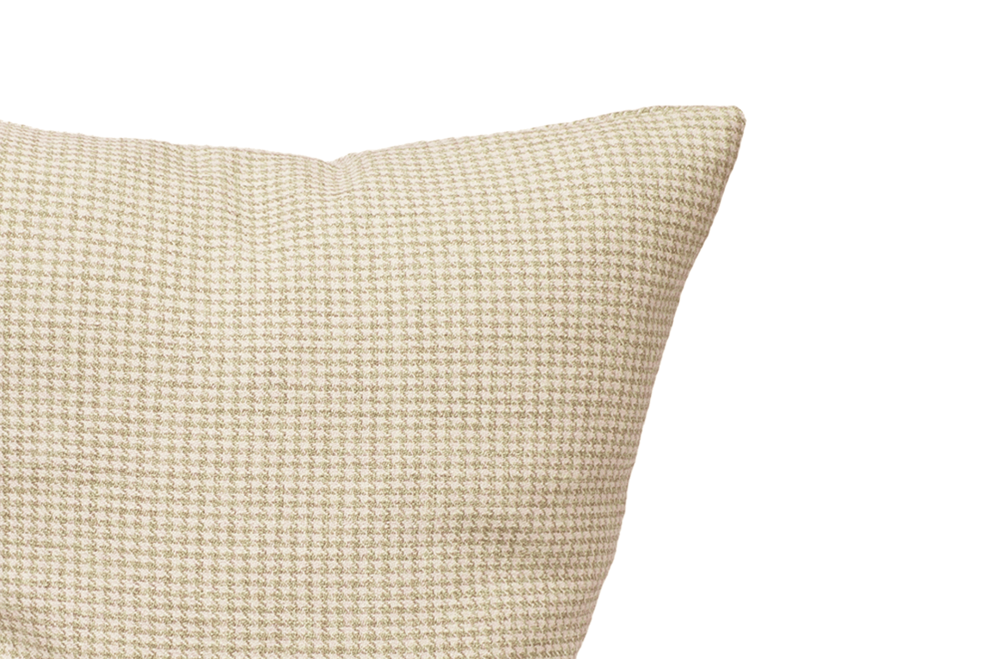 Oat Houndstooth Cushion Cover Cushion Cover Canadian Down & Feather Company