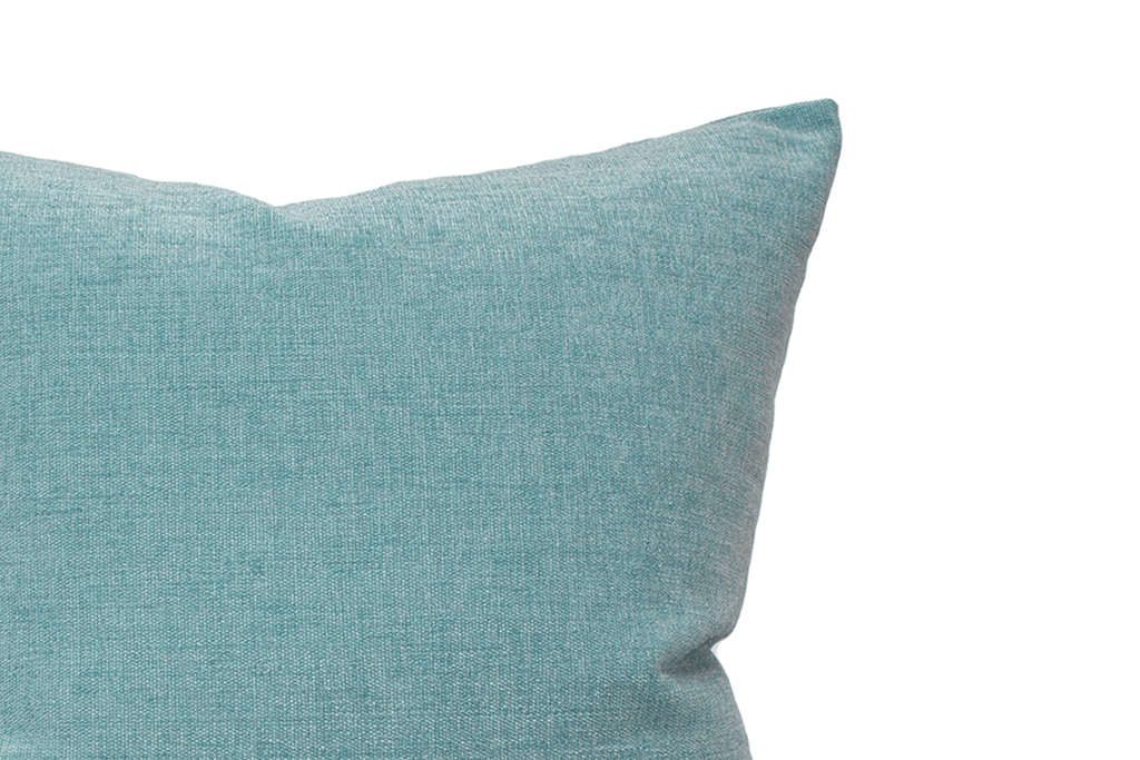 Blue Chenille Cushion Cover