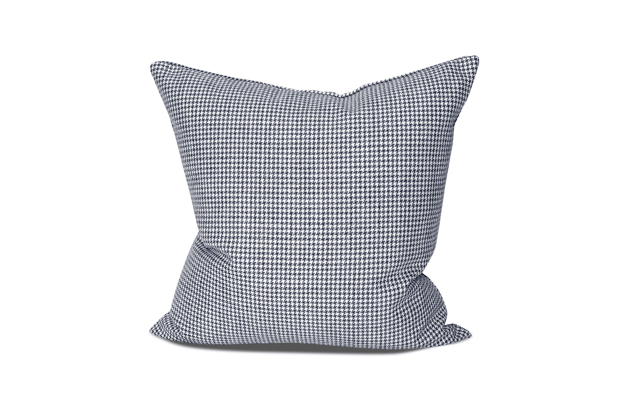 Indigo Houndstooth Cushion Cover Cushion Cover Canadian Down & Feather Company