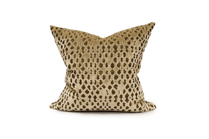 Gold Pattern Cushion Cover Cushion Cover Canadian Down & Feather Company