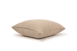 Mushroom Herringbone Cushion Cover Cushion Cover Canadian Down & Feather Company