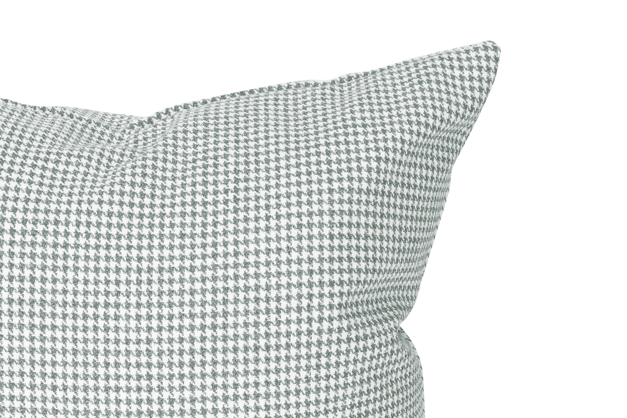 Pewter Houndstooth Cushion Cover Cushion Cover Canadian Down & Feather Company