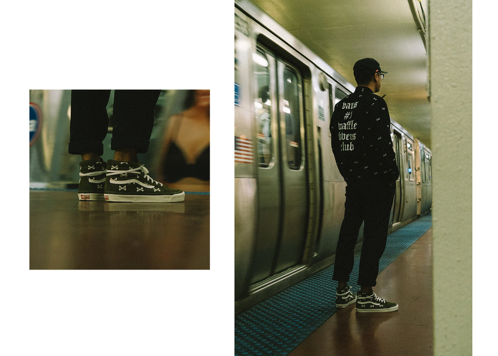 Vans Vault x WTAPS 'Bones Collection' at Notre Shop