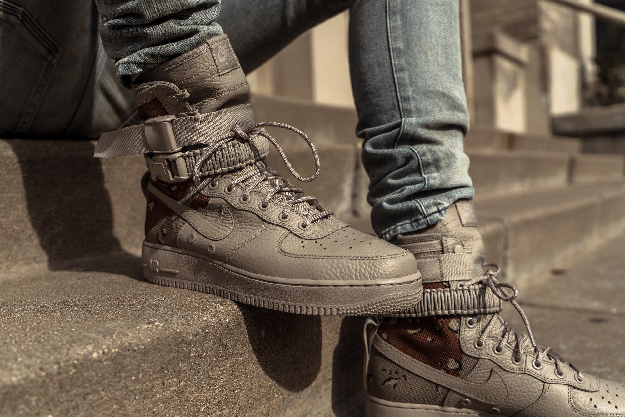 afacae92fb46d Nike Special Field Air Force 1 'Desert Camo' at Notre