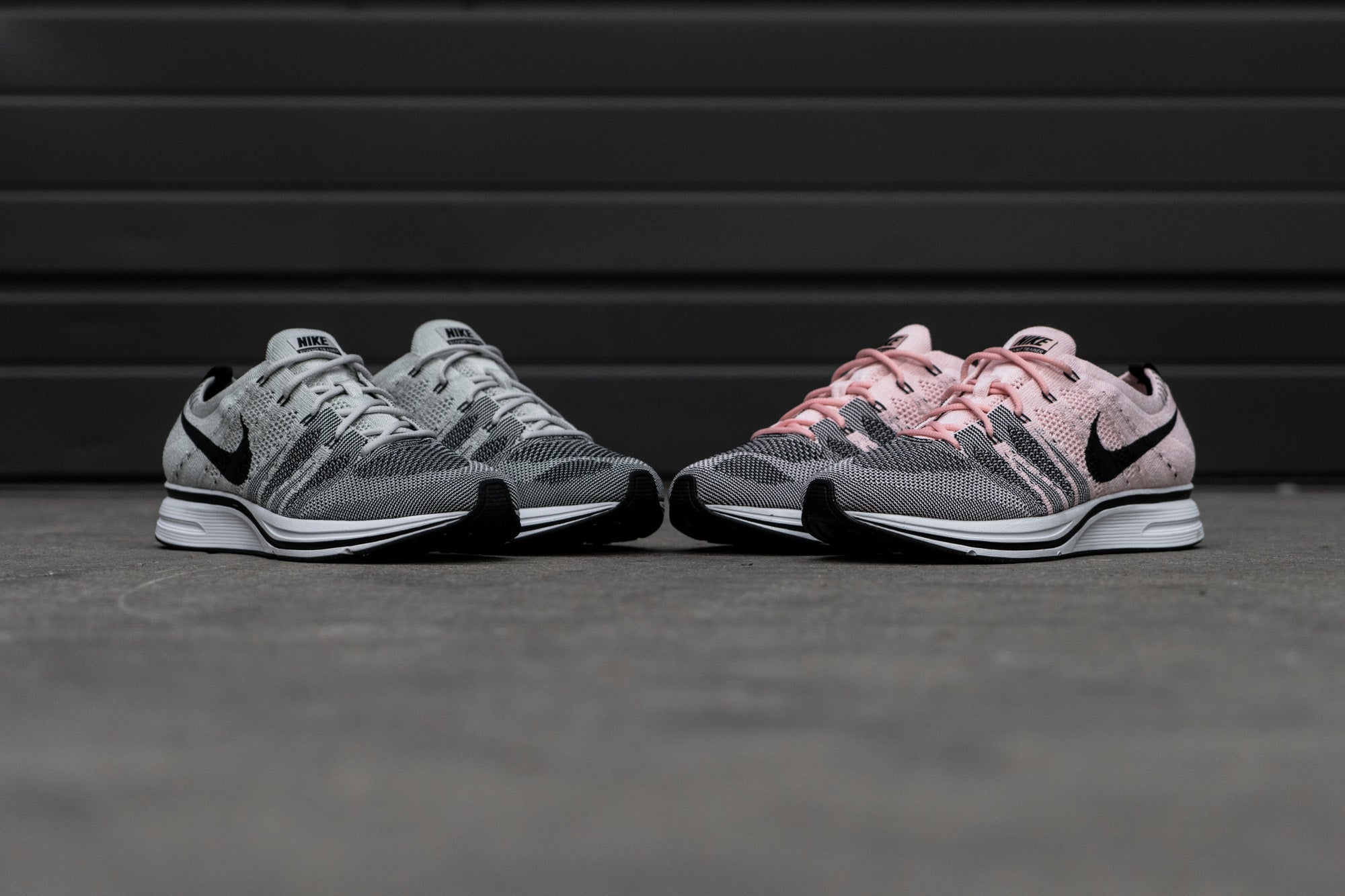 Nike Flyknit Trainer - Pale Grey   Sunset Tint at Notre ... e0f567f5c1