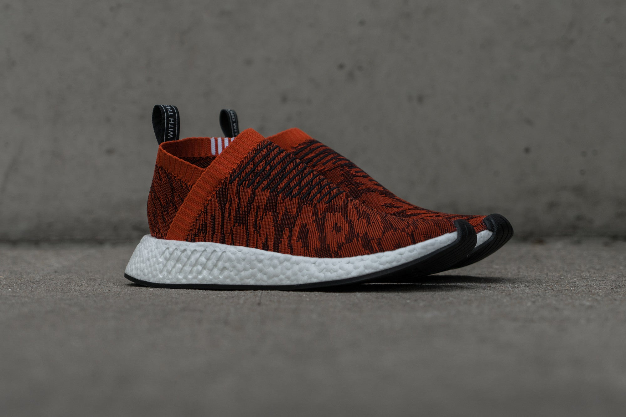Notre Shop: adidas NMD CS2 Primeknit in Red Multi sku BY9406-5