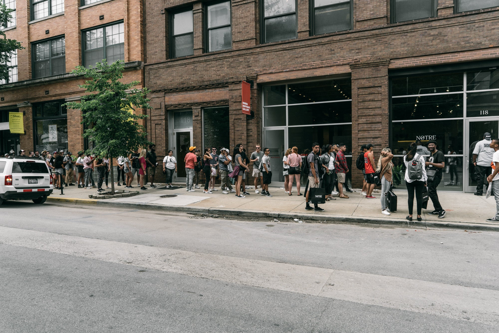 Kendrick Lamar's DAMN. Pop Up at Notre Chicago