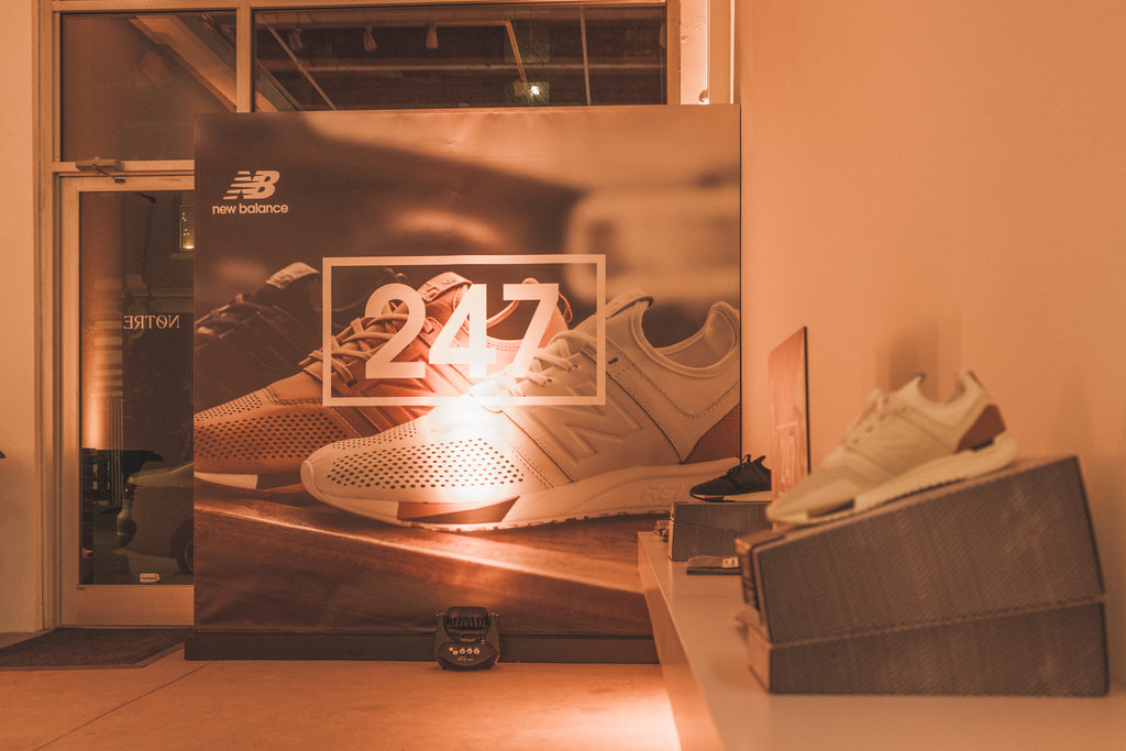 New Balance 247 Launch at Notre