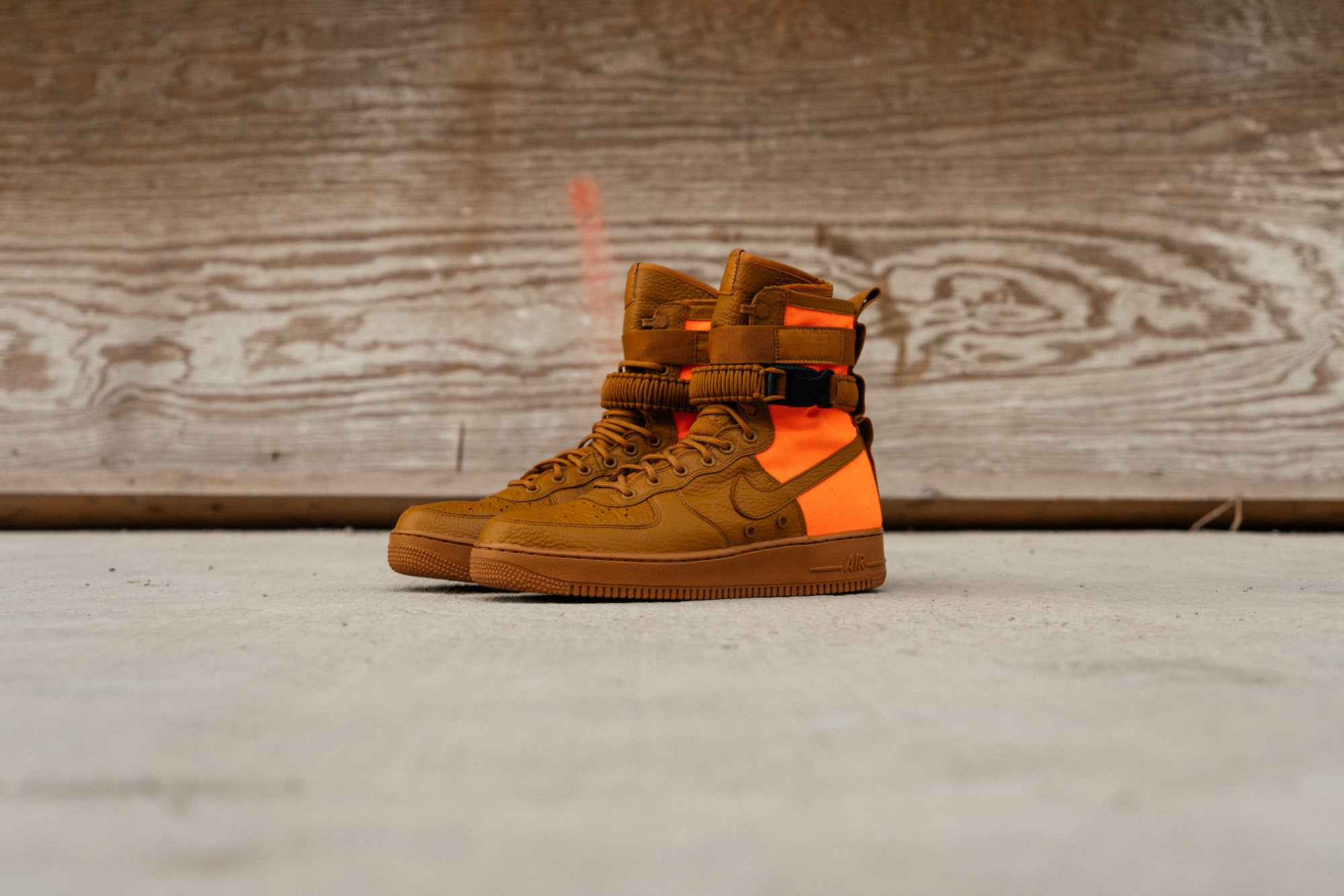 Nike Special Field Air Force 1 Hi - Ochre/Orange at Notre