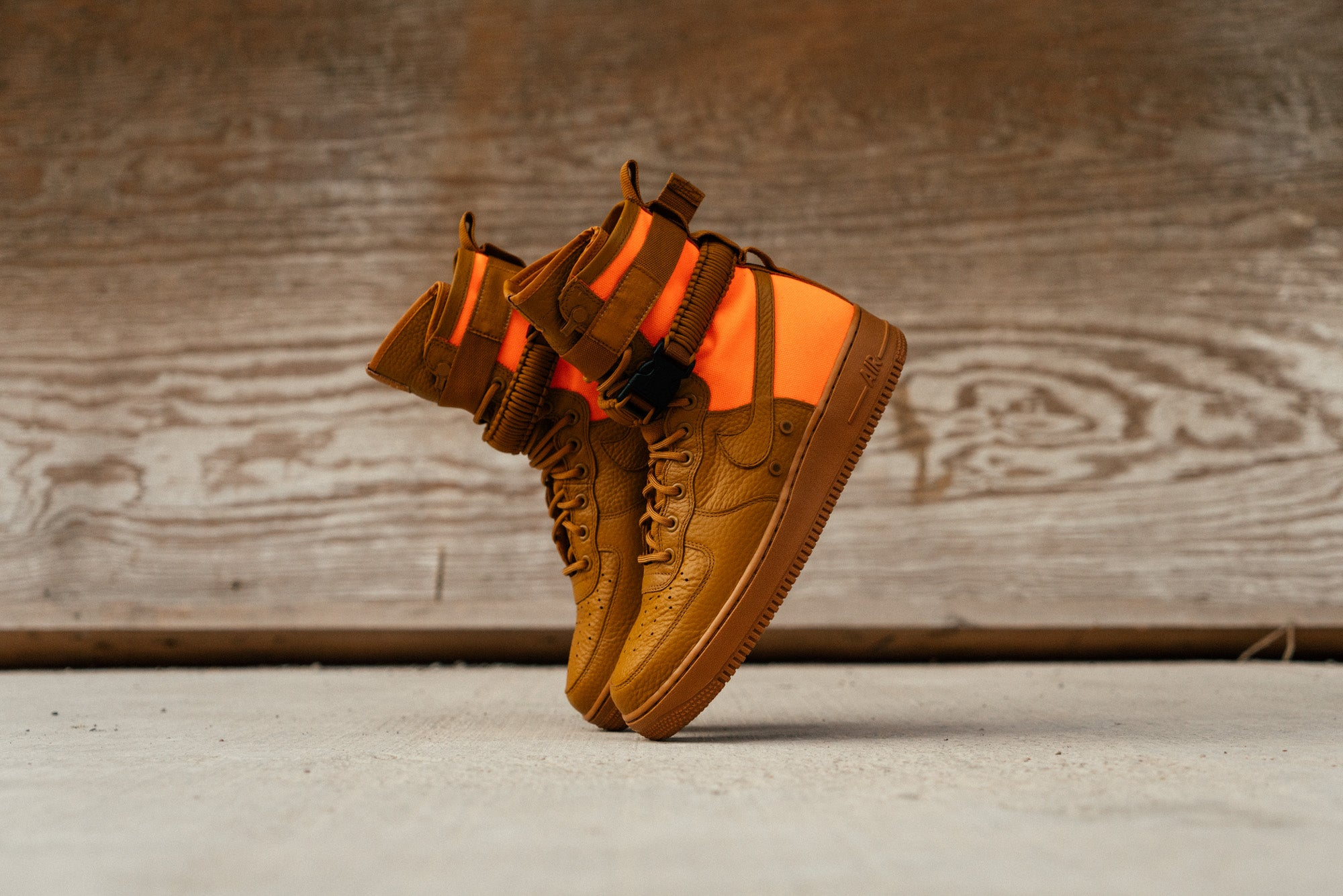 Nike Special Field Air Force 1 Hi - Ochre/Orange