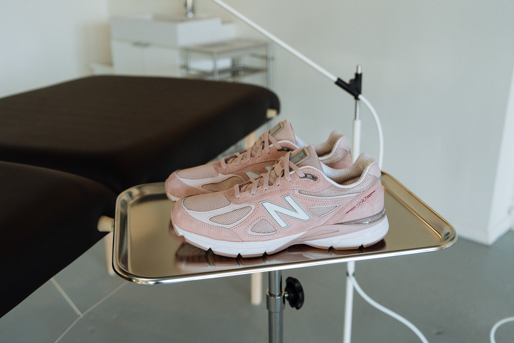 New Balance 990v4 'Pink Ribbon' - David Allen Tattoo - Notre Chicago