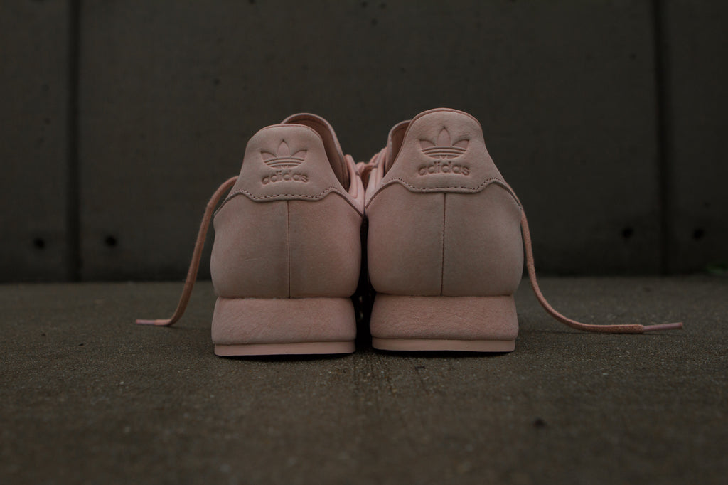 Adidas Originals x Woodie White Samoa 'Pigskin Pack' - Vapour Pink Back