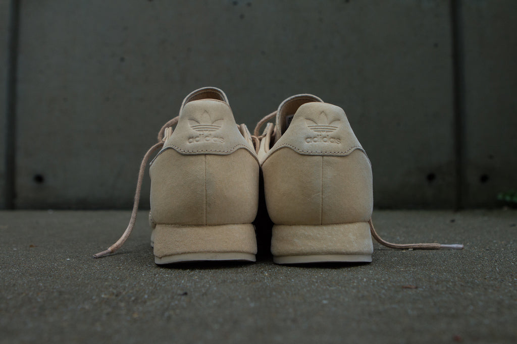 Adidas Originals x Woodie White Samoa 'Pigskin Pack' - Pale Nude Back