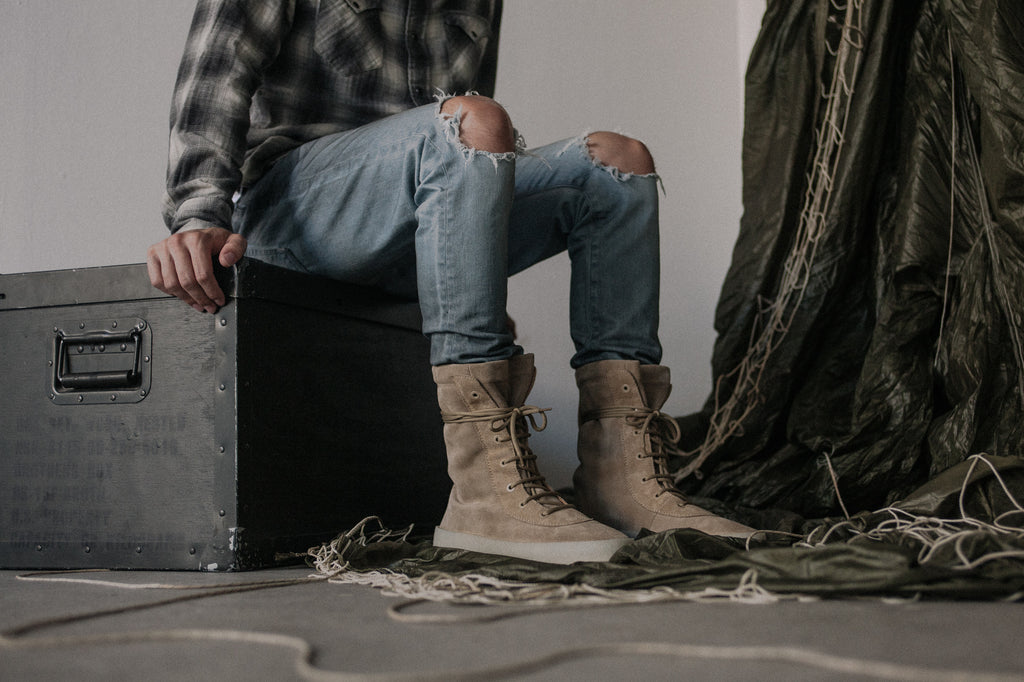 huge discount 96630 cae9a The Season 2 zine along with both men s and women s sizing of the crepe  boots plus very limited numbers of the women s heel will be releasing in  store at ...