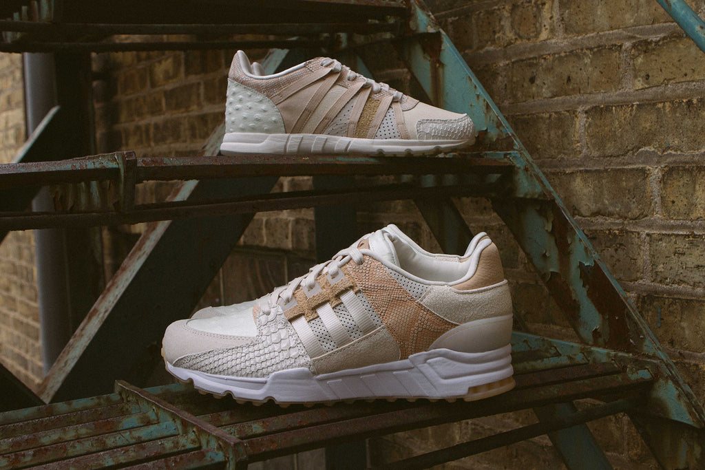 "Adidas Originals EQT ""Luxe Oddity"" Pack on Stairs"