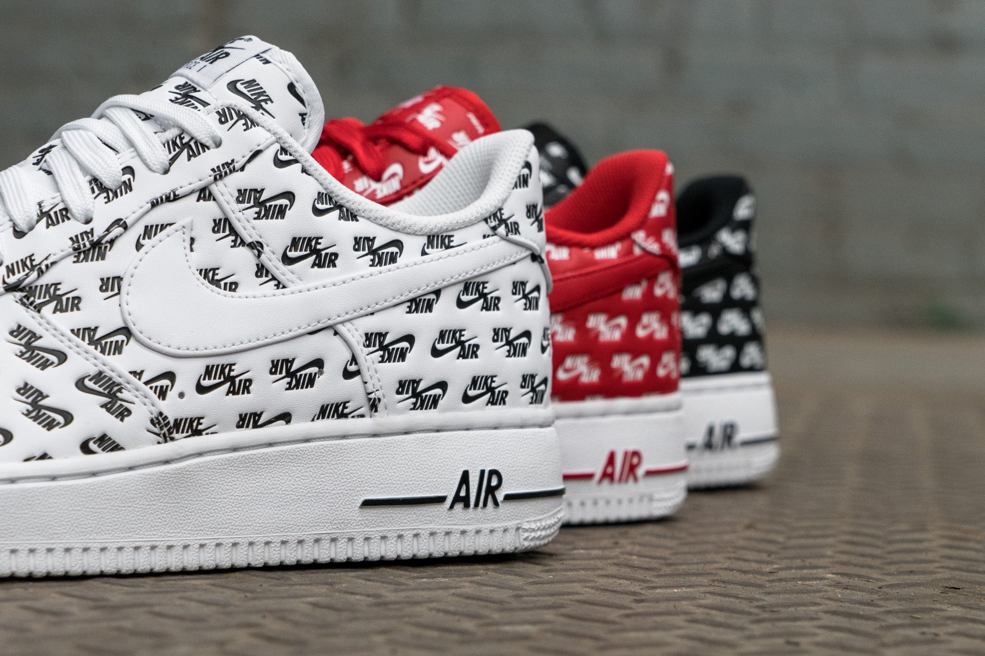 b0642a28a Nike Air Force 1 'Air Emblazoned' Pack at Notre