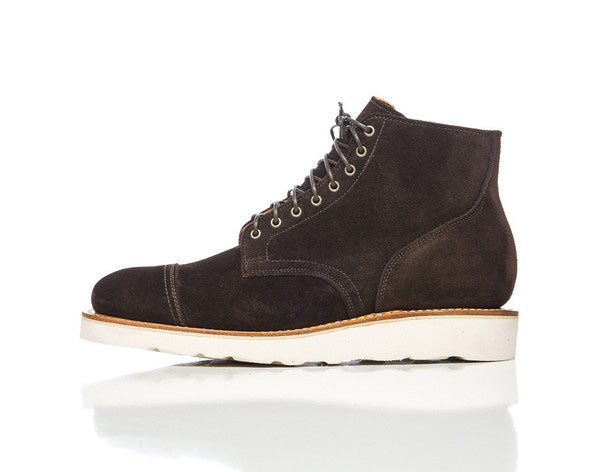 Viberg Service Boot in Snuff Brown
